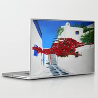 greece Laptop & iPad Skins featuring Greece by maggs326