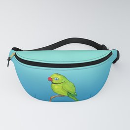 Cute Indian ring neck Fanny Pack