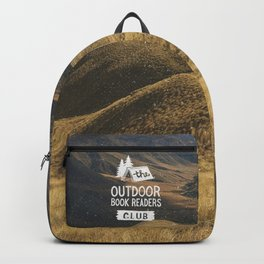 The Outdoor Book Readers Club Backpack