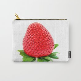 Srawberry on White Carry-All Pouch