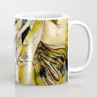 bleach Mugs featuring Golden Collar by CrismanArt
