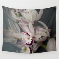 orchid Wall Tapestries featuring Orchid by Pure Nature Photos