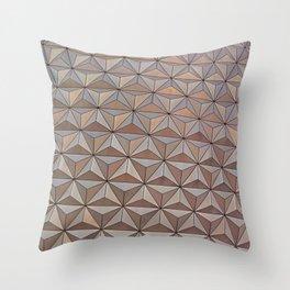 Epcot pattern 2 Throw Pillow