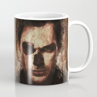 dexter Mugs featuring Dexter by Sirenphotos