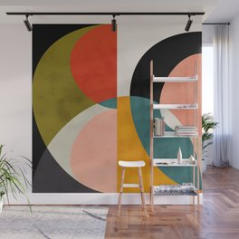 geometry shapes 3 Wall Mural