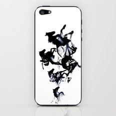 Black horses iPhone & iPod Skin