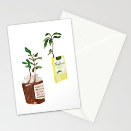 Household Plants Stationery Cards