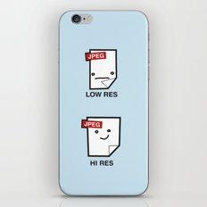 LORES or HI RES iPhone & iPod Skin