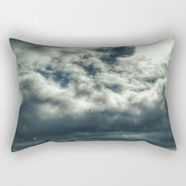 Thunder is coming Rectangular Pillow