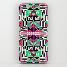 Crazy Eights iPhone & iPod Skin