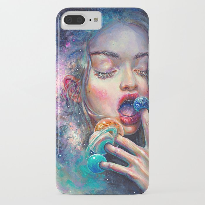 black hole in the milky way iphone case