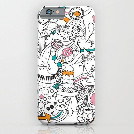 My Happy Doodle iPhone & iPod Case