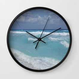 Carribean sea 3 Wall Clock