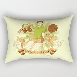 Bob Benson Pin up Boy Rectangular Pillow