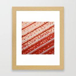 Diagonal Bars Framed Art Print