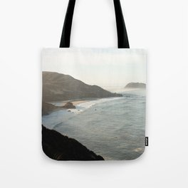 Sunrise over Big Sur Tote Bag