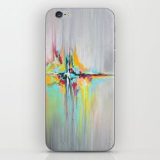 Your Wildest Dream - Textured Abstract Art iPhone & iPod Skin