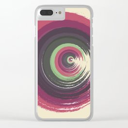 Pattern 50 Clear iPhone Case