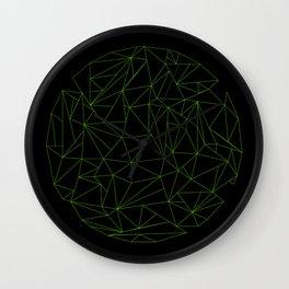 geometric circle Wall Clock