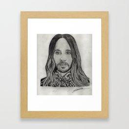 Jared Jesus Framed Art Print