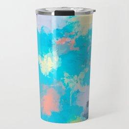 Abstract Paint splatter design Travel Mug