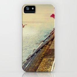 Breakwater on Lake Ponchartrain iPhone Case