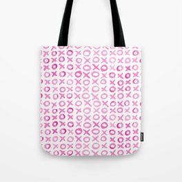 Xoxo valentine's day - pink Tote Bag