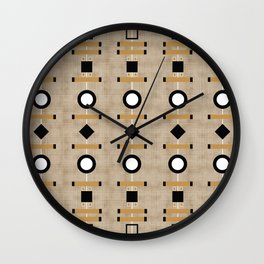 MCM Mekko Shapes Wall Clock