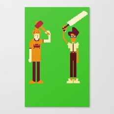 The IT Crowd: Masters of the ITverse! Canvas Print