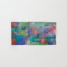 Abstract pixel pattern Hand & Bath Towel