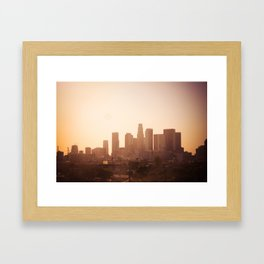 la L.A. Framed Art Print