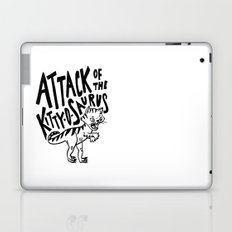 The Attack of Kitty-o-Saurus! Laptop & iPad Skin