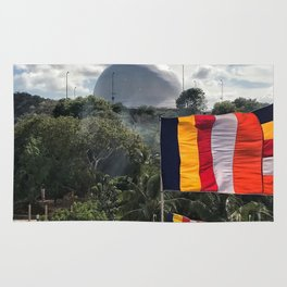 Temple on the Mountain Rug