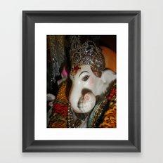 GANESH Framed Art Print