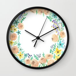 in the valley Wall Clock