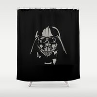 vader Shower Curtains featuring Vader by WaXaVeJu