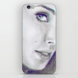 Scared of Nothing iPhone Skin