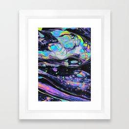 GLASS IN THE PARK Framed Art Print