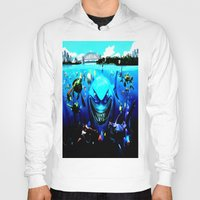 finding nemo Hoodies featuring nemo by Marwan Baghdadi