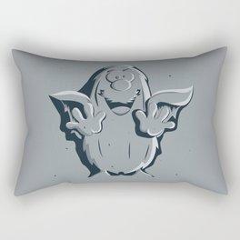 Captain Caveman Frozen So-lid Rectangular Pillow