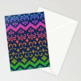 Ikat Rhythm & Blues Stationery Cards