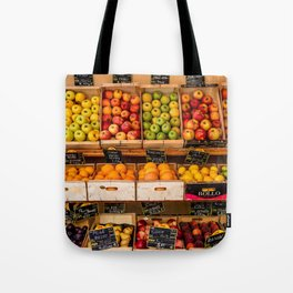 Groceries, Nice France Tote Bag