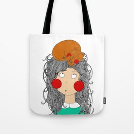 My lovely cat!! Meowww Tote Bag