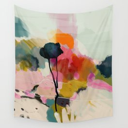 paysage abstract Wall Tapestry