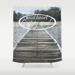 Gypsy Soul Shower Curtain