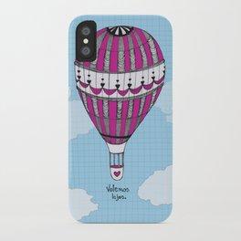 Hot Air Balloon, Spanish iPhone Case