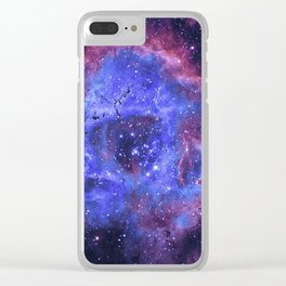 Supernova Explosion Clear iPhone Case