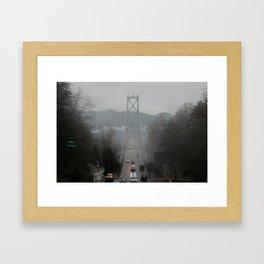 TheLionsGate Framed Art Print