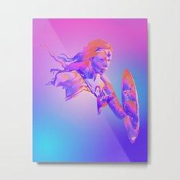 WonderWoman, Justice League Metal Print