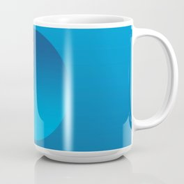 Blue Float Coffee Mug